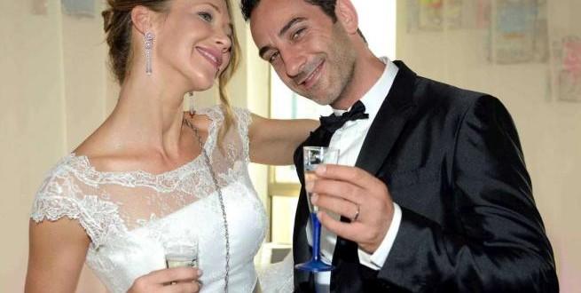 Ludmilla Radchenko e Matteo Viviani novelli sposi