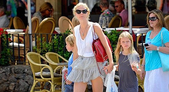 Gwyneth Paltrow e Chris Martin a spasso per Maiorca