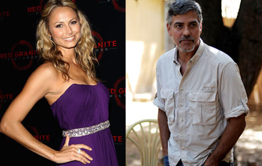 George Clooney: Stacy Keibler come Elisabetta Canalis