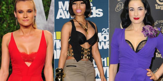 Reggiseno mania, la nuova moda sono le star in lingerie