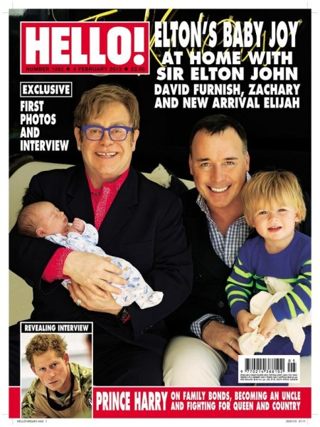 ONE USE - Elton John and David Furnish