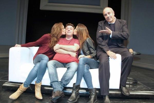 Federica Nargi è l'amante di Gabriele Cirilli... ma solo a teatro