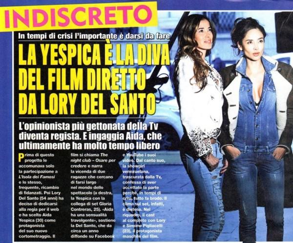 """Lory Del Santo: """"ora penso a fare film, l'amore dà solo sofferenza"""""""