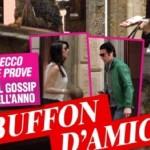 Notte segreta tra Buffon e la D'Amico