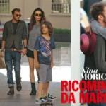 Nina Moric scatti d'amore con Marco