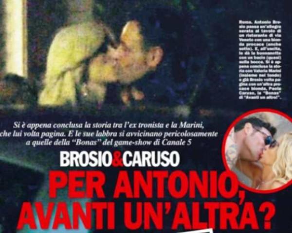 Antonio Brosio smentisce flirt con Paola Caruso