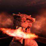 Drago di fuoco