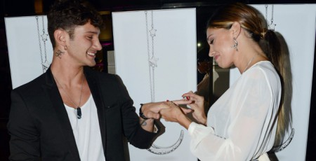 Belen Rodriguez e Stefano de Martino finalmente a nozze
