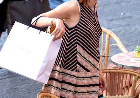 Charlotte Casiraghi in dolce attesa a Capri