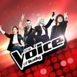 Al via The Voice of Italy 2: i coach Noemi, J-Ax, Carrà e Pelù entusiasti