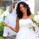 Caterina Balivo vestito da sposa comprato su Internet