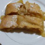 strudel di mele e marmellata